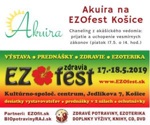 Akuira čítanie z akáše EZO festo košice 17. máj 2019