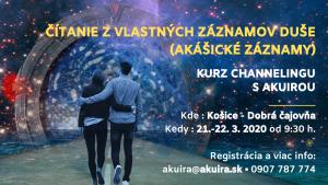 Kurz Akášické záznamy 21.-22. 03. 2020 Košice