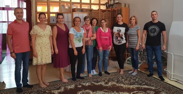 Účasntíci kurzu Akášických záznamov s Akuirou v Košiciach (sept 2019)