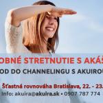 Uvod do channelingu Akuira Bratislava 22-23.maja 2021