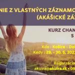 29.-30. mája 2021 channeling akáša čítanie zo záznamov duše Košice