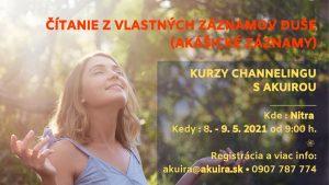 Kurz channeling 8 - 9 máj 2021 Nitra