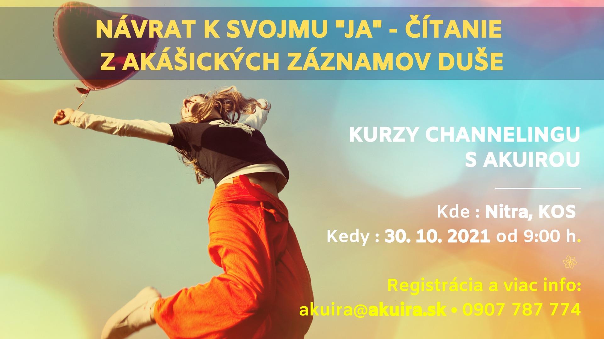 Kurz channeling 30 oktober 2021 Nitra